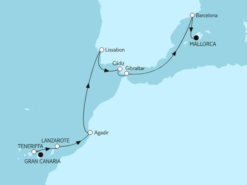 Gran Canaria bis Mallorca I