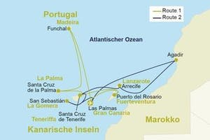 Atlantik Route 1: Kanaren mit Madeira