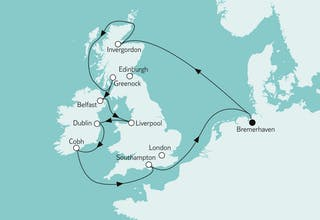 Großbritannien ab Bremerhaven II