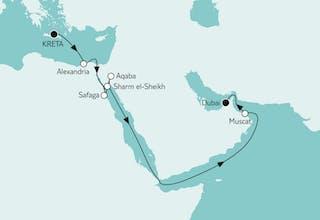 Kreta bis Dubai I