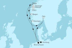 Norwegen mit Geirangerfjord II