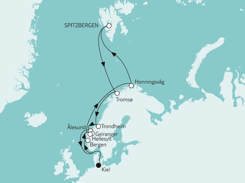 Norwegen mit Spitzbergen II