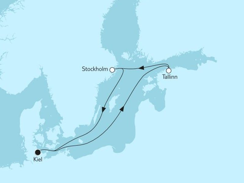 Kurzreise mit Tallinn & Stockholm II