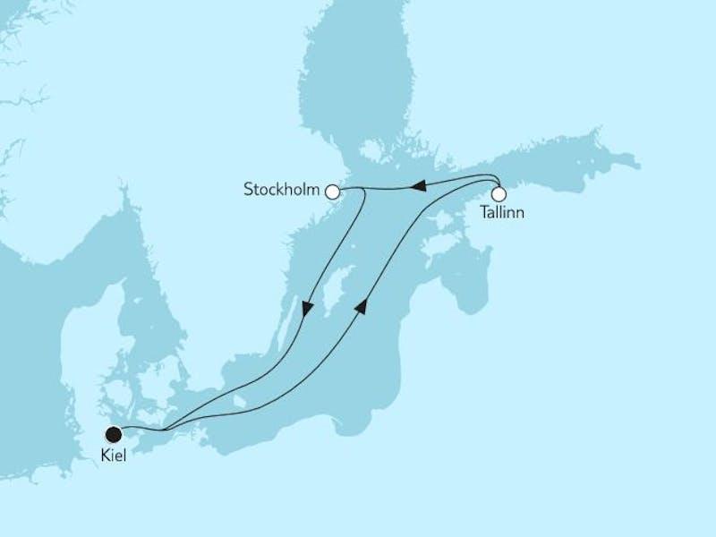 Kurzreise mit Tallinn & Stockholm I