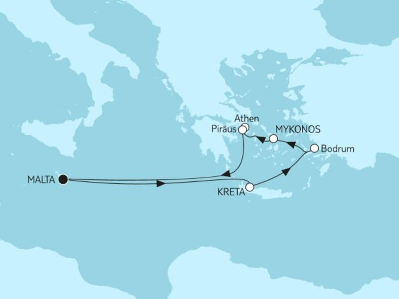 Griechenland ab Malta II