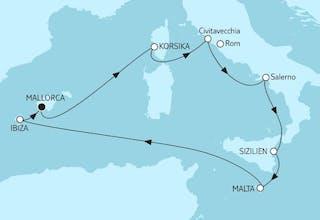 Mittelmeer mit Salerno I
