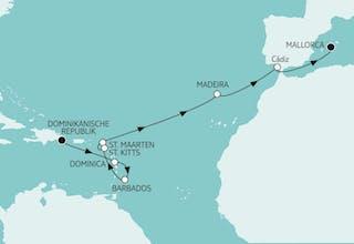Dom. Republik bis Mallorca II