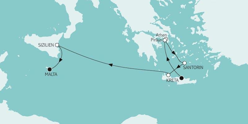 Kreta bis Malta I