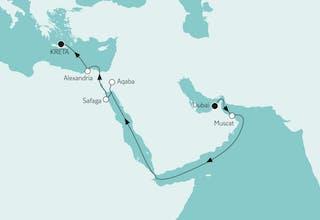 Dubai bis Kreta II