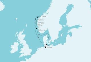 Norwegen mit Bergen II