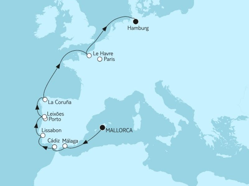Mallorca bis Hamburg II
