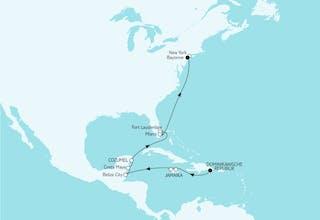 Karibik Bis New York