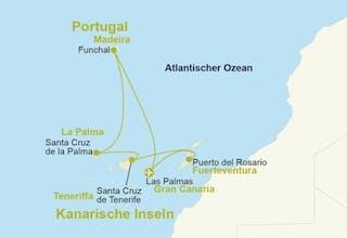 Kanaren & Madeira mit Hotel