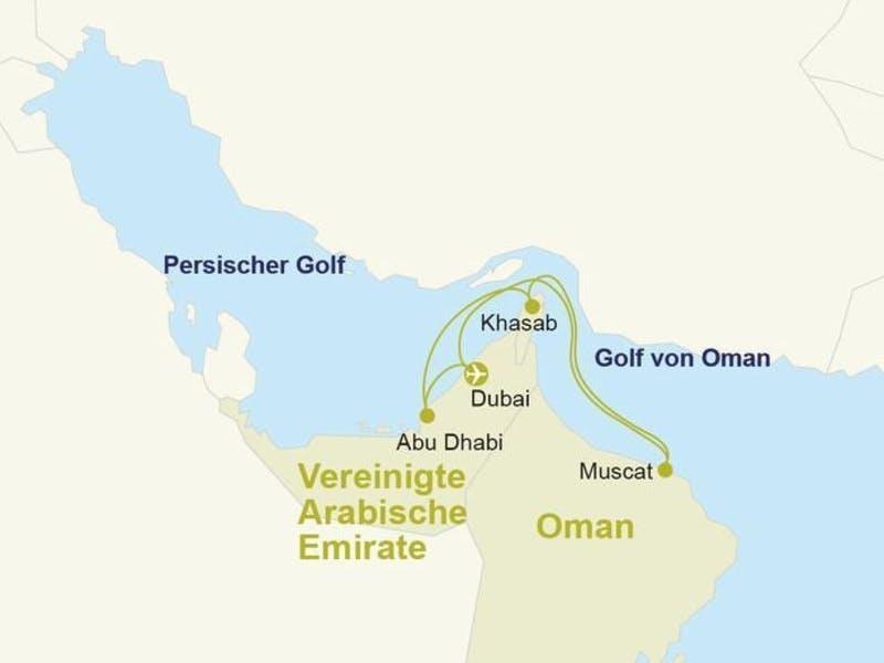 Orient mit Oman
