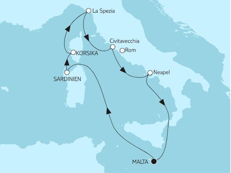 Mittelmeer mit Italien II