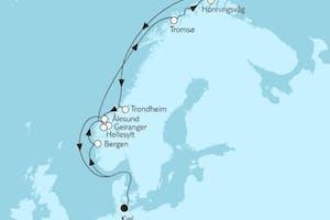 Norwegen mit Nordkap IV