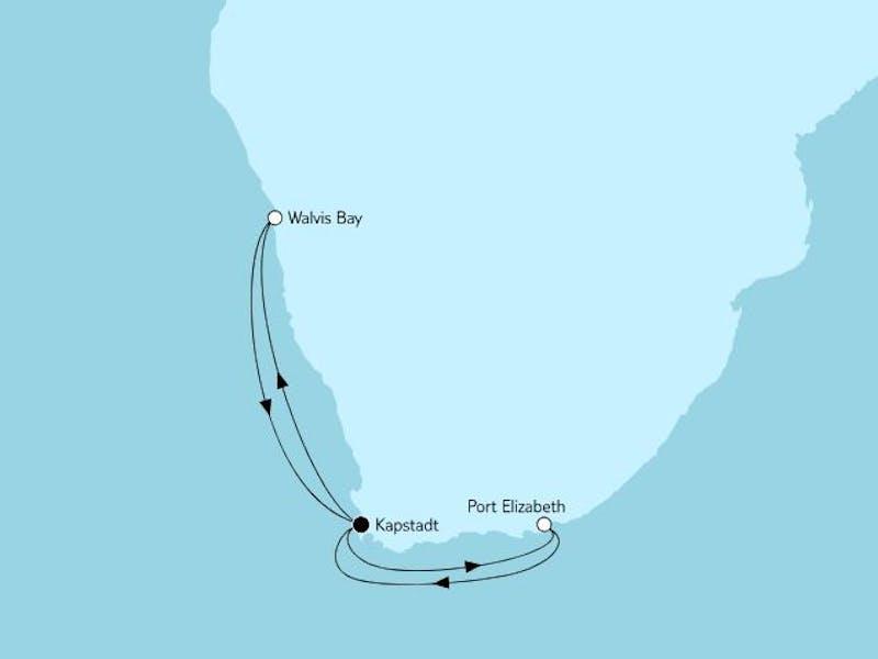 Südafrika mit Namibia I