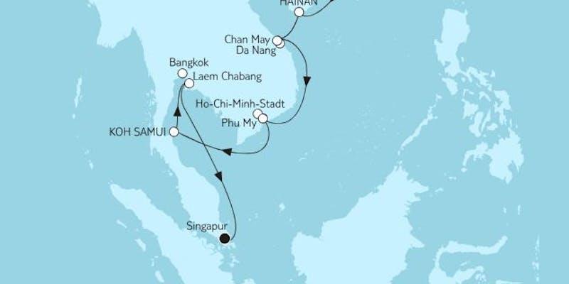 Hongkong bis Singapur II