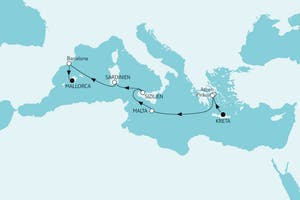 Östliches Mittelmeer bis Mallorca I