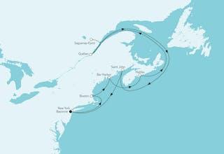 Neuengland mit Kanada I