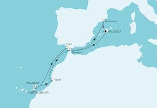Mittelmeer mit Kanaren II
