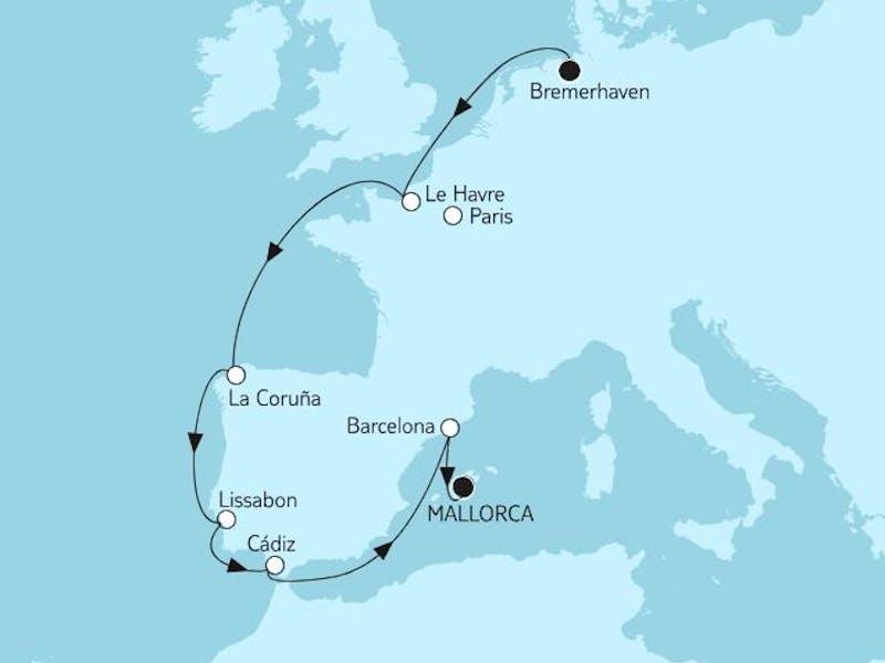 Bremerhaven Bis Mallorca III