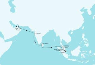 Singapur bis Dubai
