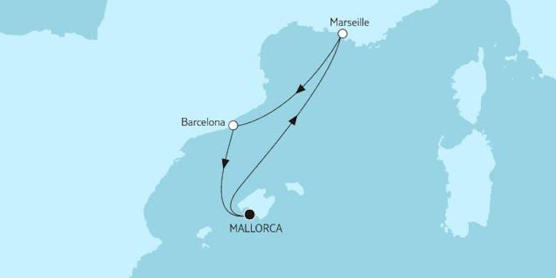 Kurzreise mit Marseille & Barcelona II