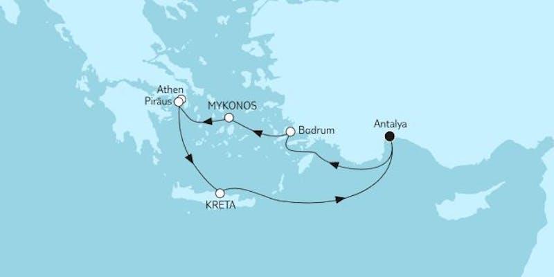 Östliches Mittelmeer mit Kreta I