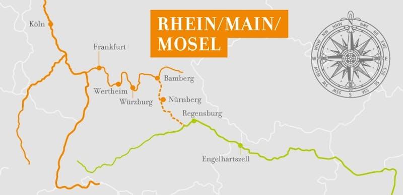 Main Romantik ab Regensburg-Köln