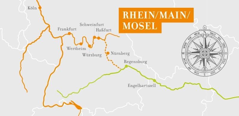 Main Romantik Köln-Regensburg