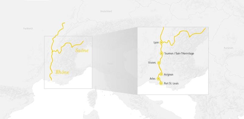 Rhône Route Méditerranée