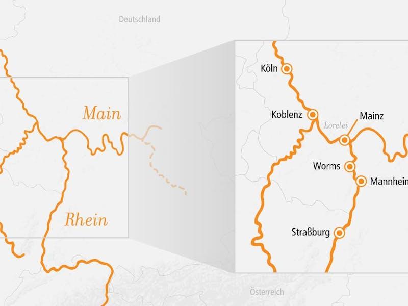 Rhein Main Loreley 4 Naechte