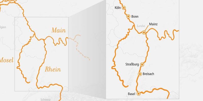 Rhein In Flammen Bingen