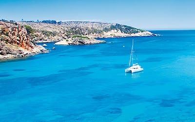 Funkelndes Mittelmeer