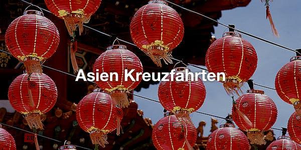 Asien Kreuzfahrten
