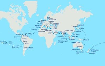 Costa Weltreise 2022