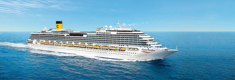 Sommer 2020 - Costa Pacifica - Westliches Mittelmeer