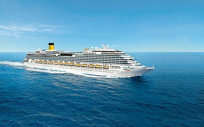Costa Pacifica - Westliches Mittelmeer