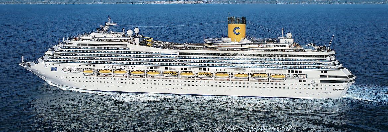 Costa Fortuna - Transreise vom Mittelmeer nach Asien