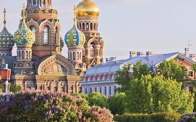Ostsee mit St. Petersburg