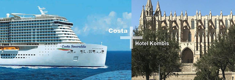 Costa + Hotel Kombis Mittelmeer Sommer 2020