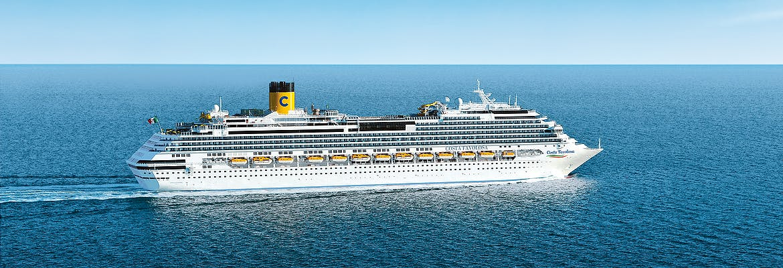 Sommer 2021 - Costa Favolosa - Nordeuropa ab Bremerhaven bis Savona