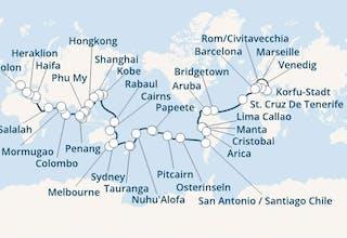 Weltreise 2020