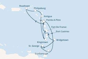 Bezaubernde Kleine Antillen und die Magie der Karibik
