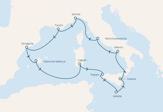 Italien, Spanien, Balearen (Spanien), Malta