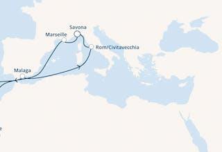 Italien, Frankreich, Kanaren (Spanien), Madeira, Spanien