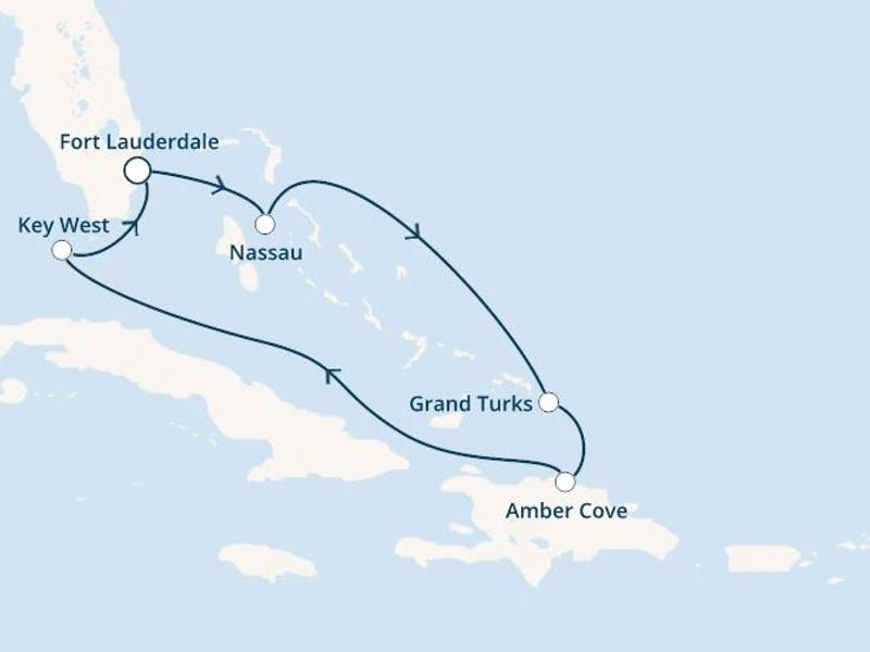 Florida, Bahamas, Turks Inseln