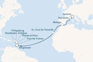 Karibisches Meer - 20 Nächte