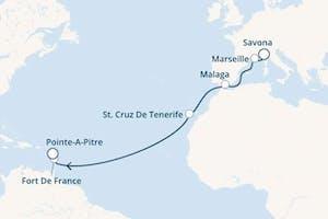 Karibisches Meer - 13 Nächte